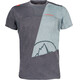 La Sportiva Workout t-shirt Heren grijs
